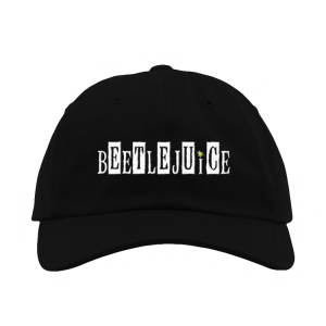 Beetlejuice Showtime Logo Hat