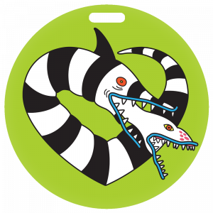 Beetlejuice Sandworm Ornament