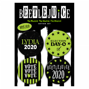 Beetlejuice Vote Button Set