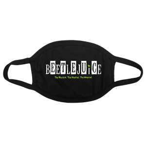 Beetlejuice Logo Face Mask