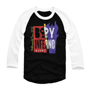 Beetlejuice Boy Inferno Raglan