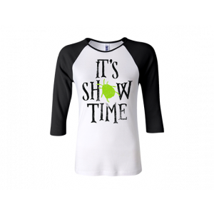 Women's Fitted Showtime Raglan